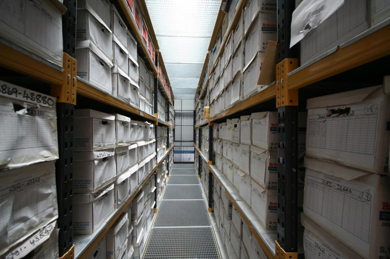 Business Document Storage in Leeds